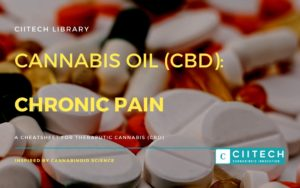 Cannabis Cheatsheet Chronic Pain CBD Cannabis Oil UK