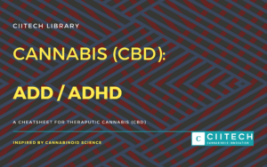 Cannabis Cheatsheet ADD ADHD CBD Cannabis Oil UK