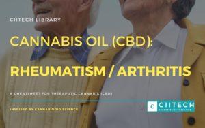 Cannabis Cheatsheet reumatism arthritis CBD Cannabis Oil UK