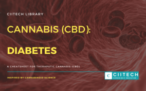 Cannabis Cheatsheet diabetes CBD Cannabis Oil UK