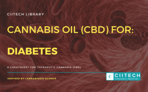 Cannabis Cheetsheet diabetes CBD Cannabis Oil UK