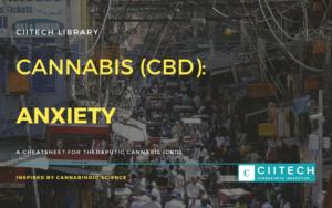 Cannabis Cheatsheet Anxiety CBD UK