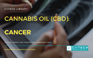 Cannabis Cheatsheet CANCER CBD Cannabis Oil UK