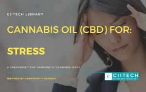 Cannabis Cheetsheet stress CBD Cannabis Oil UK