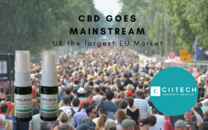 CBD Goes maintstream UK holland and barrett
