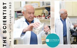 CIITECH_Professor Raphael Mechoulam, Endocannabinoid HebrewU TheScientist