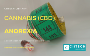 Cannabis Cheat sheet ANOREXIA CBD Cannabis Oil UK