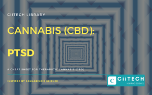 Cannabis Cheat sheet PTSD CBD Cannabis Oil UK